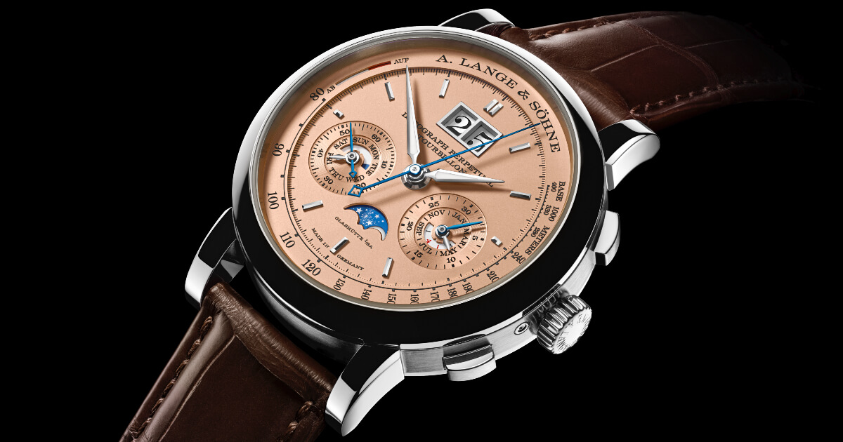 SIHH 2019: A. Lange & Söhne Datograph Perpetual Tourbillon (Pictures and Price)