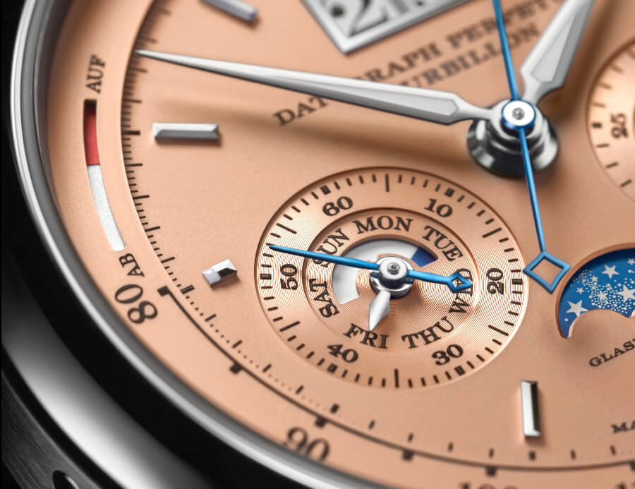 A. Lange & Söhne Datograph Perpetual Tourbillon Dial