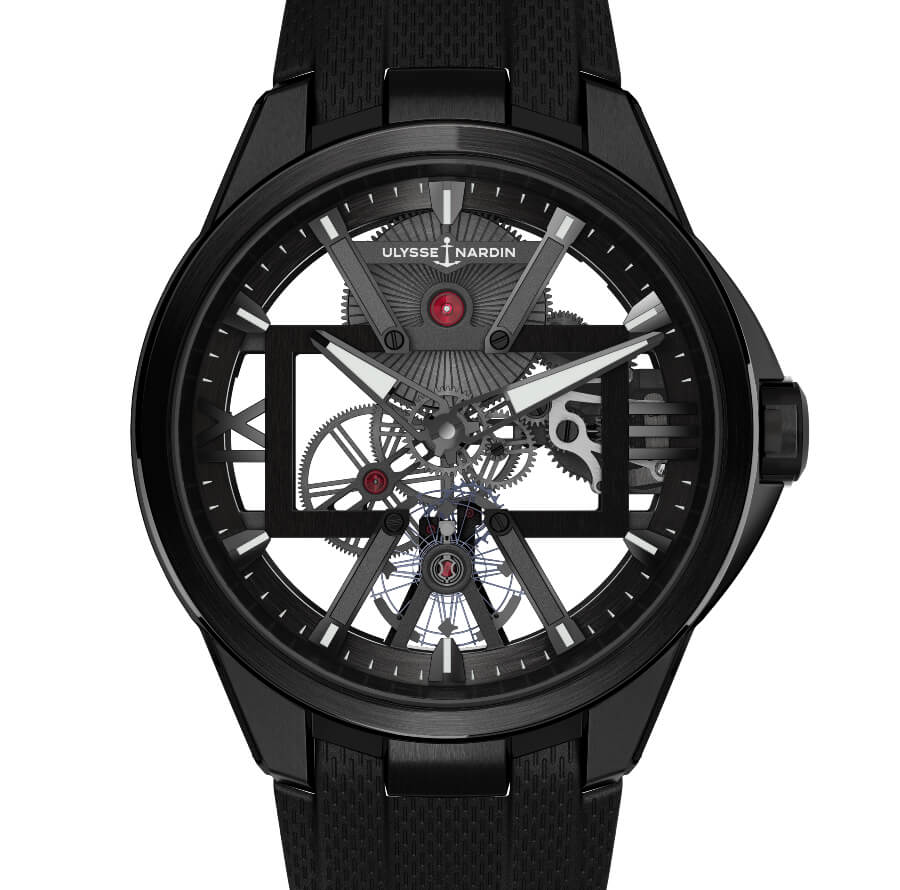 The New Ulysse Nardin Skeleton X