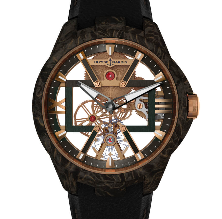 Ulysse Nardin Skeleton X Carbonium Gold