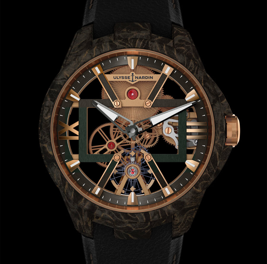 Ulysse Nardin Skeleton X Carbonium Gold Review