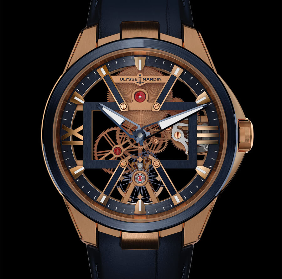 Ulysse Nardin Skeleton X Gold
