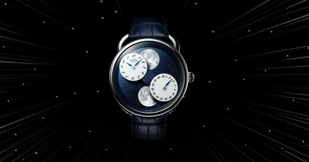 SIHH 2019: Hermes Arceau L'heure De La Lune (Pictures and Price)