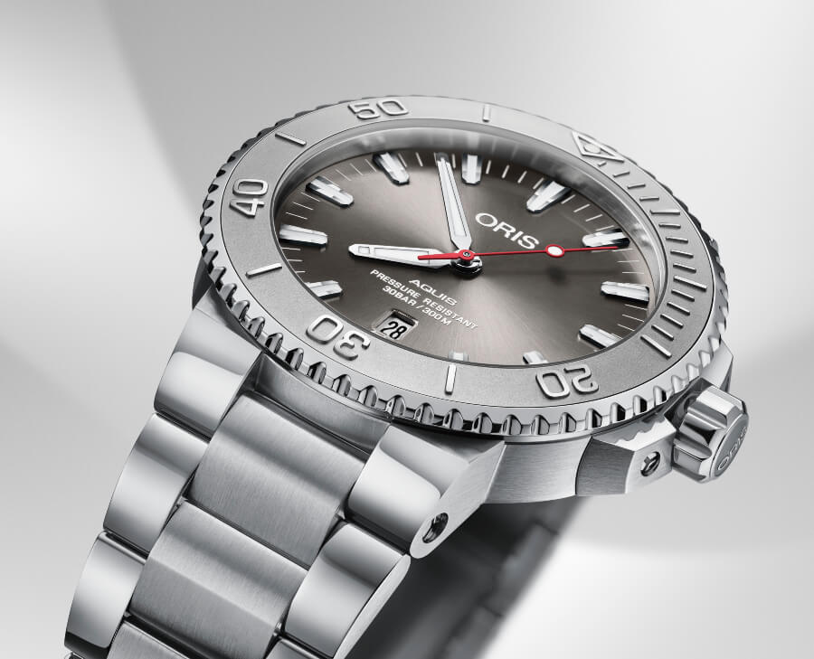 The New Oris Aquis Date Relief