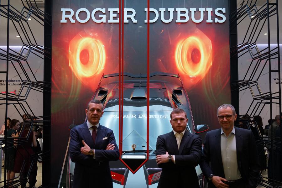 Nicola Andreatta - CEO of Roger Dubuis, El Canelo & Stefano Domenicali - CEO of Lamborghini