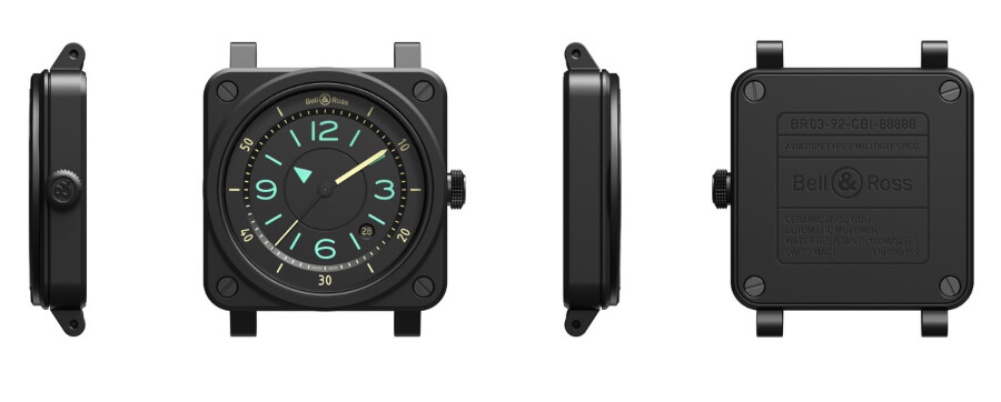 Bell & Ross BR 03 Bi-Compass Watch Review