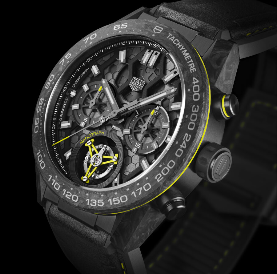 The New TAG Heuer Carrera Calibre Heuer 02T Tourbillon Nanograph