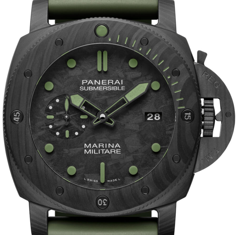 Panerai Submersible Marina Militare Carbotech - 47mm Limited Edition