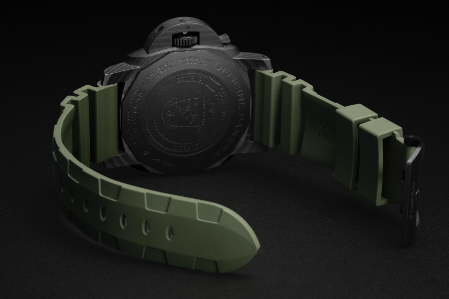 Panerai Submersible Marina Militare Carbotech - 47mm Limited Edition Case