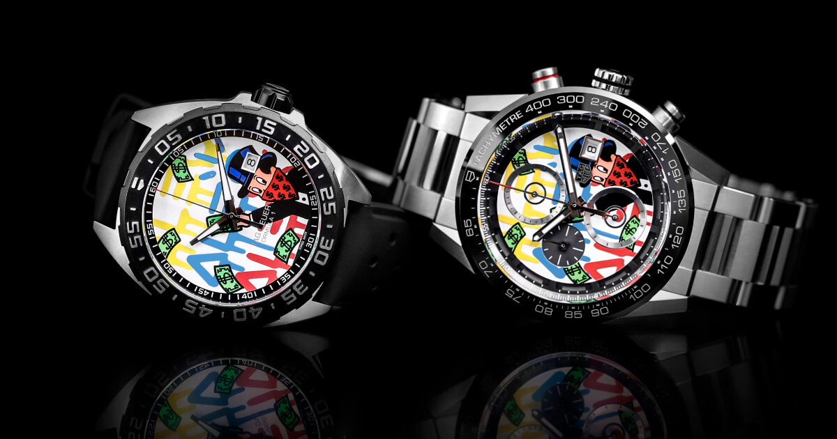 TAG Heuer Formula 1 and TAG Heuer Carrera Alec Monopoly Edition (Pictures and Price)
