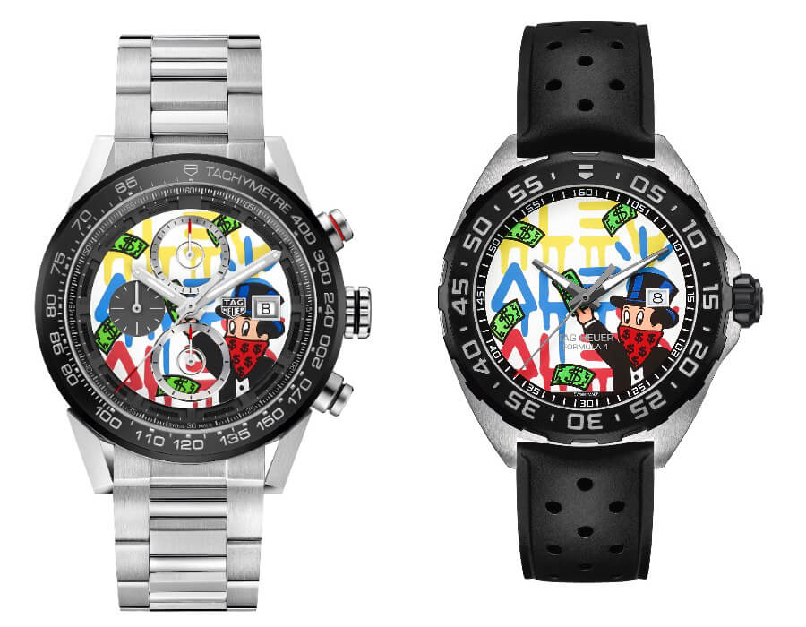 TAG Heuer Formula 1 and TAG Heuer Carrera Alec Monopoly edition
