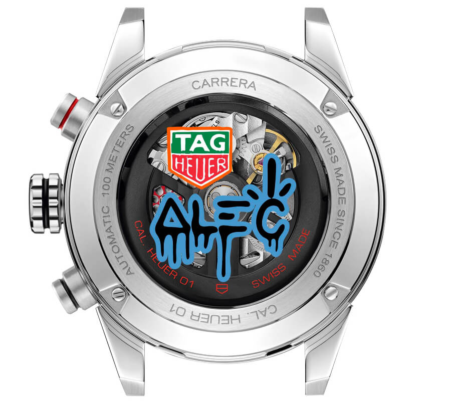 TAG Heuer Carrera Alec Monopoly Movement