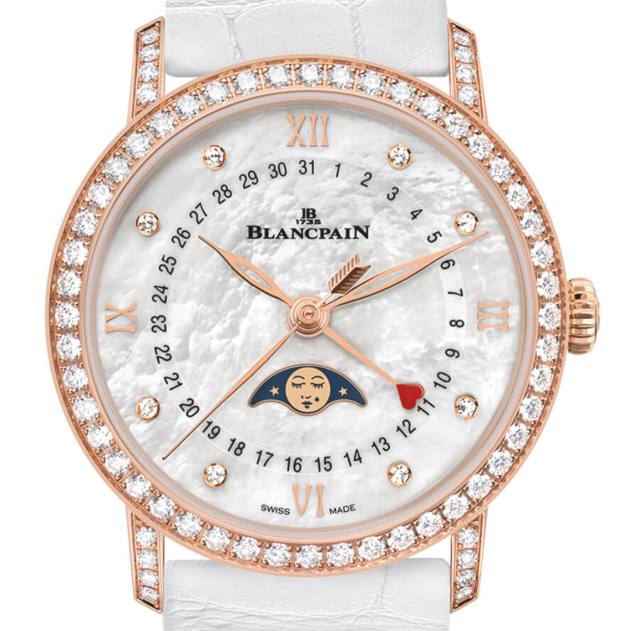 Blancpain Villeret Collection Quantième Phases de Lune Saint-Valentin 2019