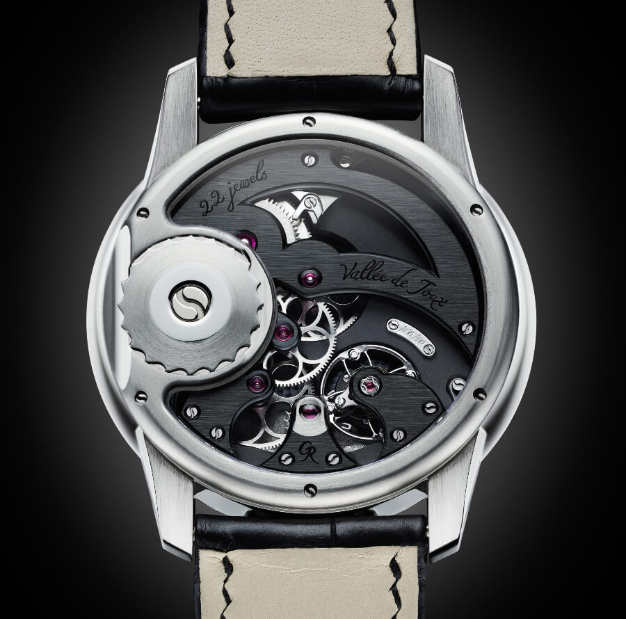 Romain Gauthier Prestige HMS Stainless Steel Movement