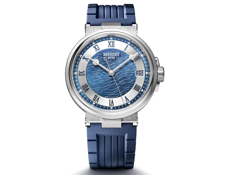 The New Breguet Marine 5517 Bucherer Blue Editions
