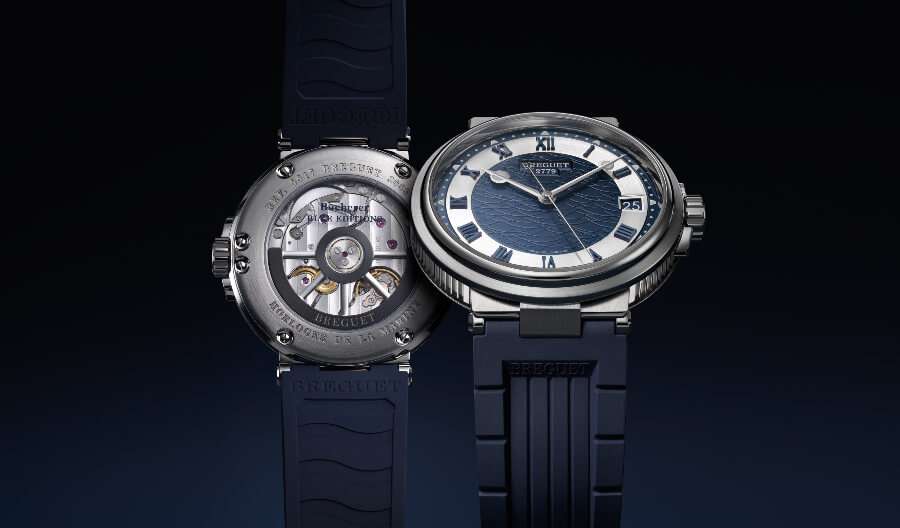 Breguet Marine 5517 Bucherer Blue Editions Movement