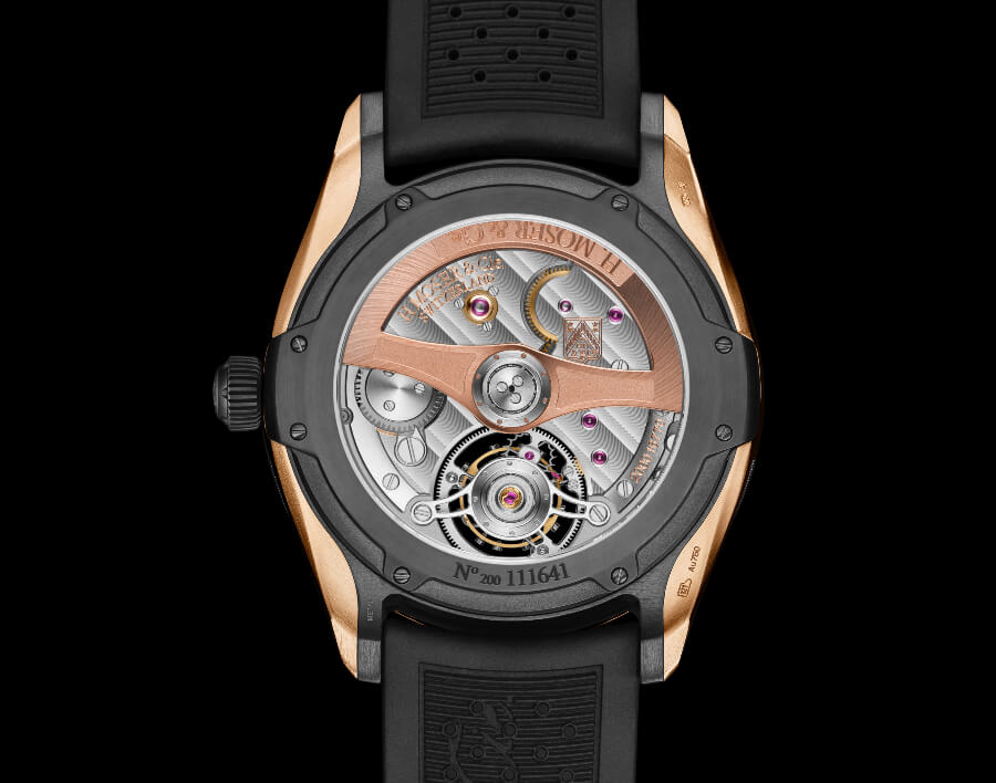 H. Moser & Cie. Pioneer Tourbillon Movement