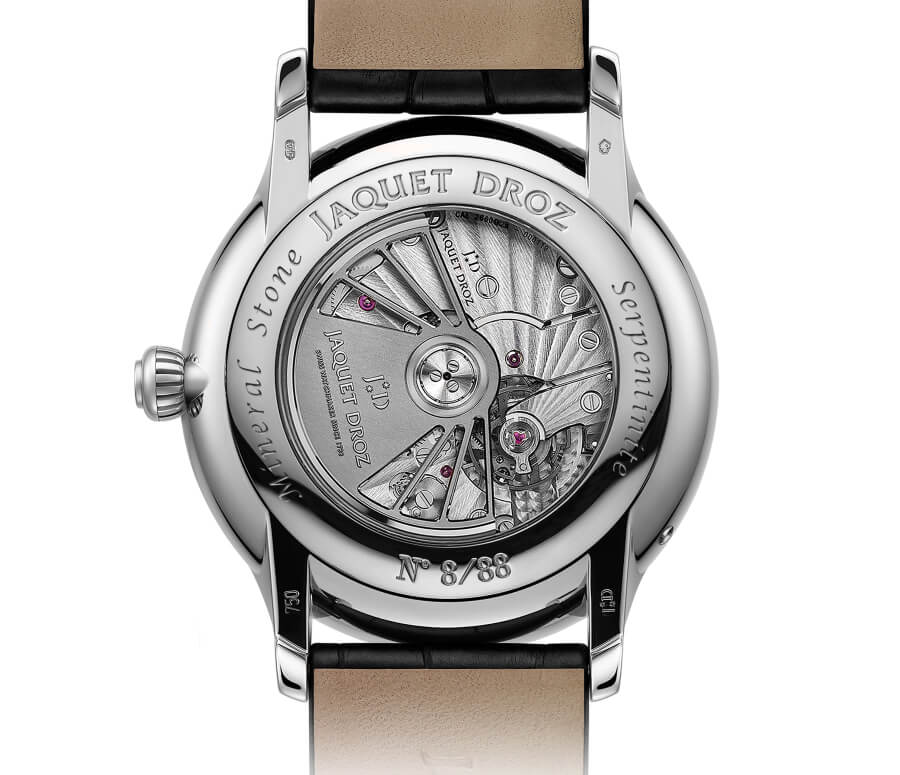Jaquet Droz Grande Seconde Moon Movement