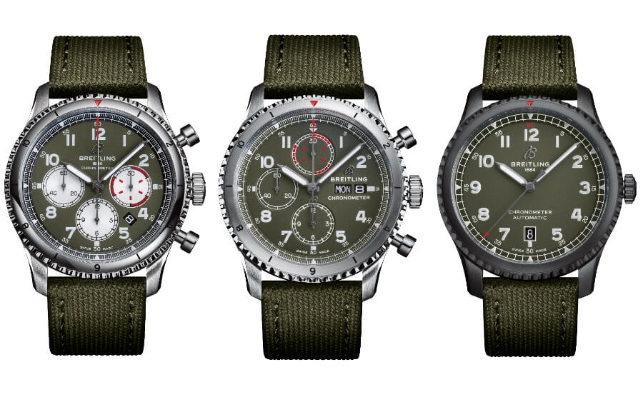 Breitling Aviator 8 Curtiss Warhawk
