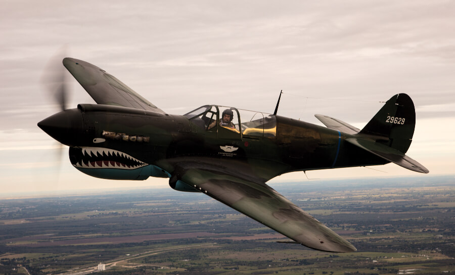 Curtiss P-40 Warhawk Airplain