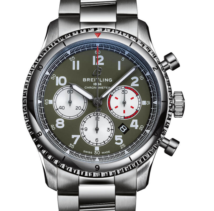 Breitling Aviator 8 B01 Chronograph 43 Curtiss Warhawk Review