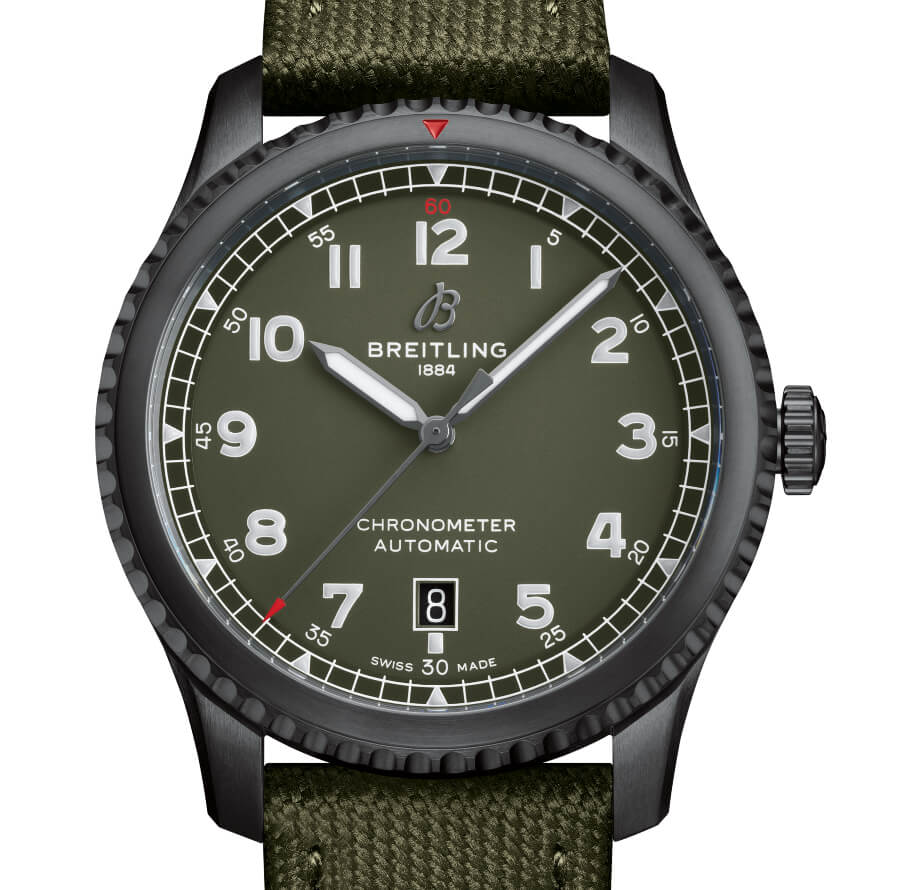 Breitling Aviator 8 Automatic 41 Curtiss Warhawk Review