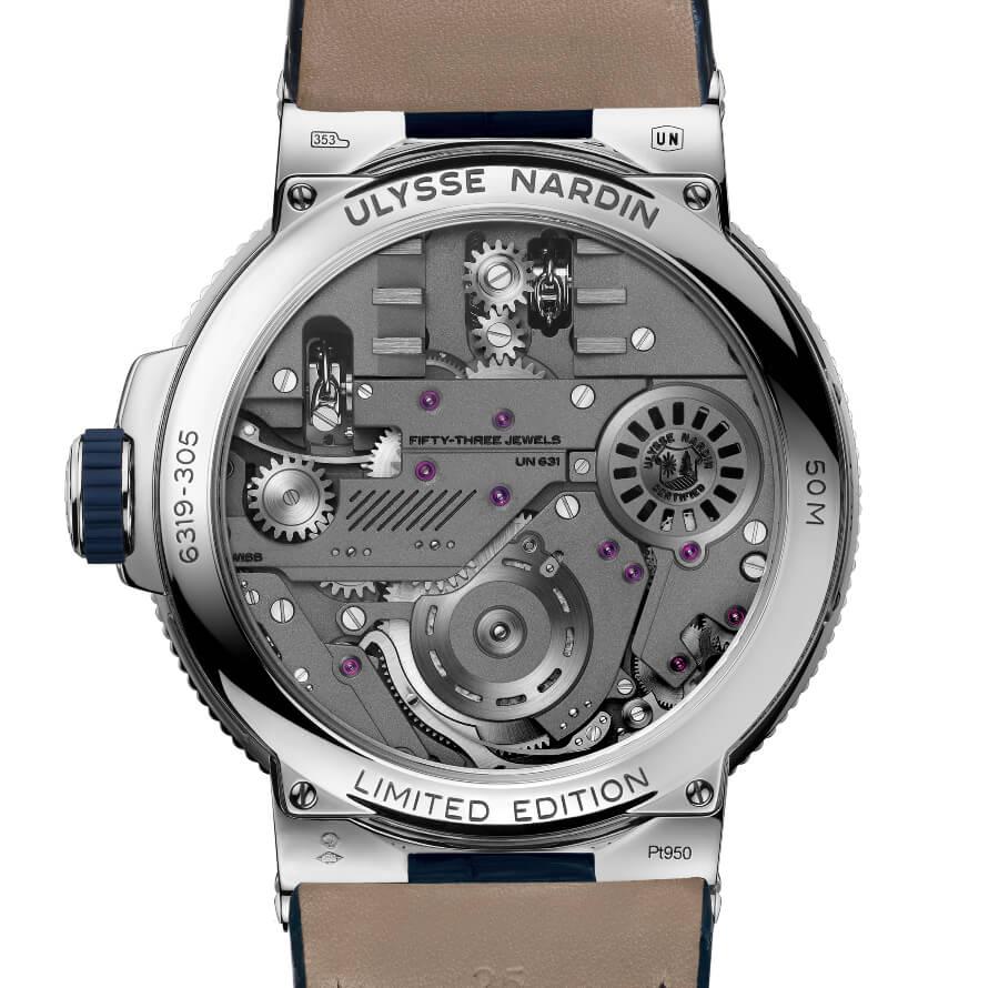Ulysse Nardin Marine Mega Yacht Watch Movement