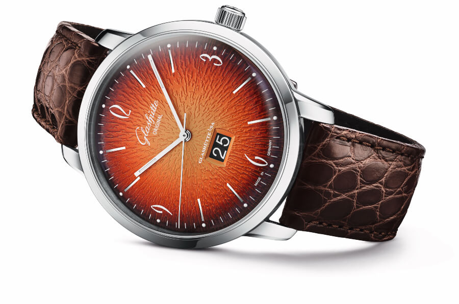 Glashütte Original Sixties Panorama Date – Annual Edition 2019 in fiery orange