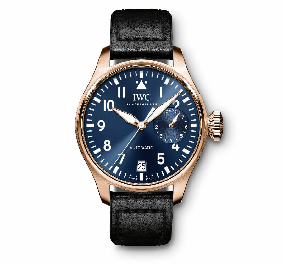 IWC Big Pilot's Watch Single Piece With A Special Engraving (Ref. IW500923)