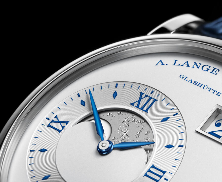"A. Lange & Sohne Grand Lange 1 Moon Phase ""25th Anniversary""  Dial"