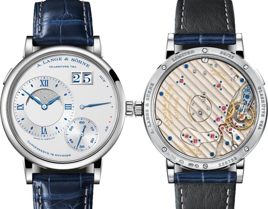 "The New A. Lange & Sohne Grand Lange 1 Moon Phase ""25th Anniversary"""