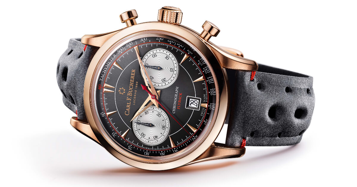Pre Baselworld 2019: The New Carl F. Bucherer Manero Flyback in 18 k rose gold case
