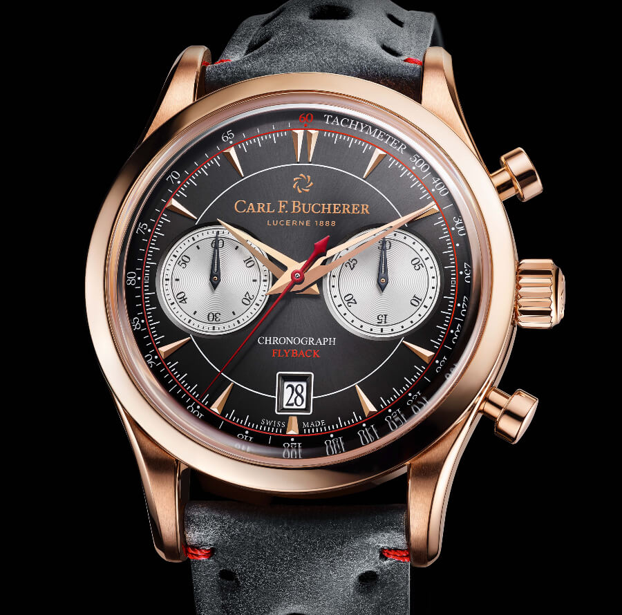 Flyback Watch Movement