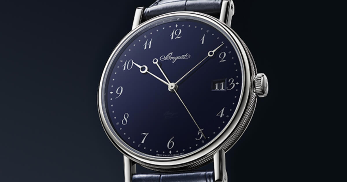 Breguet Classique 5177 Grand Feu Blue Enamel (Pictures, Price and Specifications)