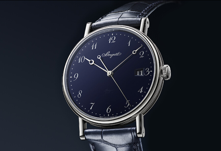 The New Breguet Classique 5177 Grand Feu Blue Enamel