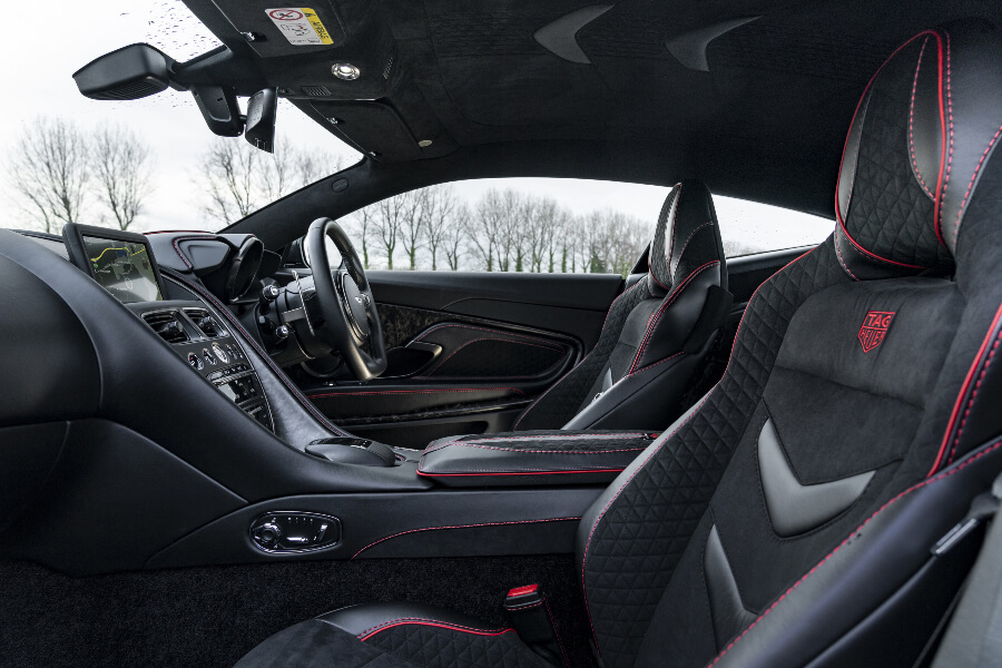 Aston Martin DBS Superleggera TAG Heuer Edition Interior