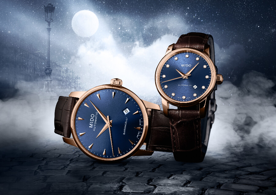 The New Mido Baroncelli Midnight Blue