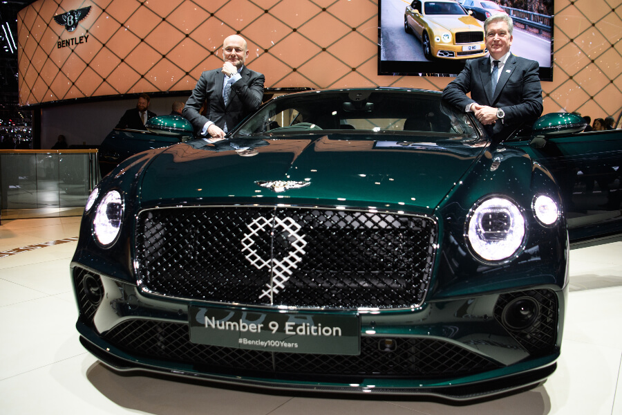 Bentley Geneva Motor Show 2019