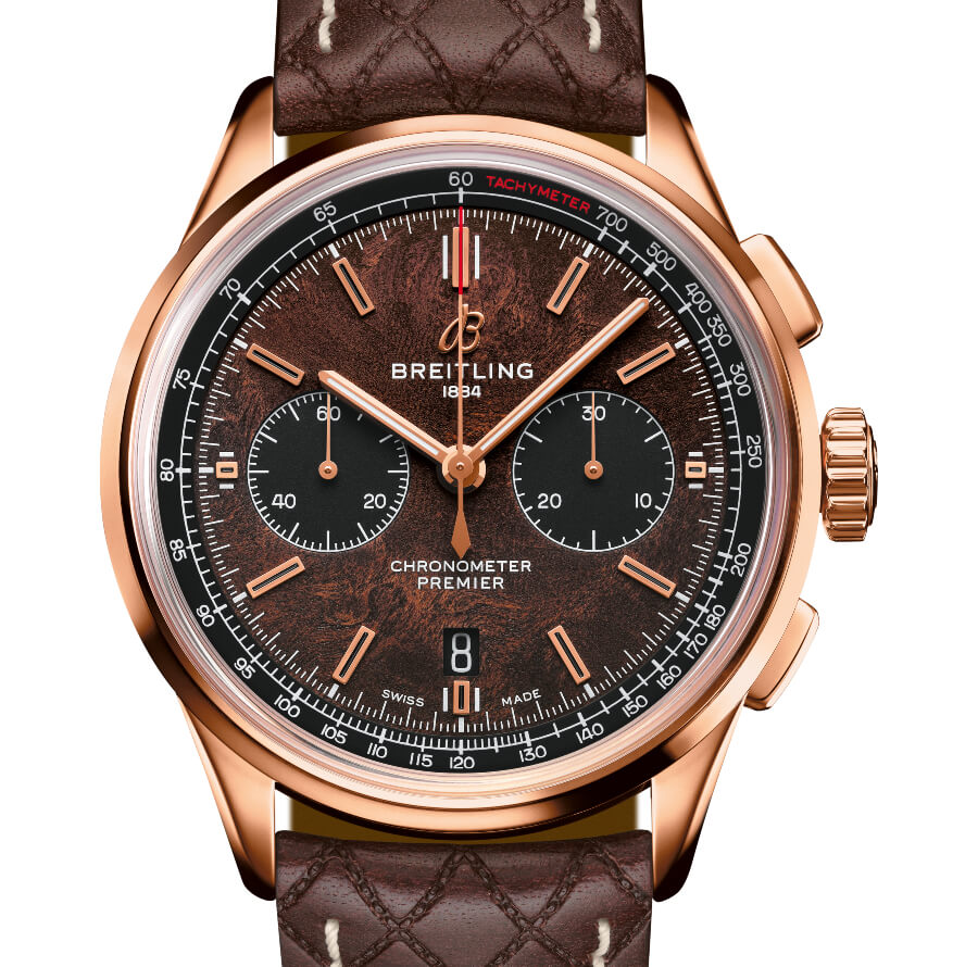 Breitling Gold Chronograph