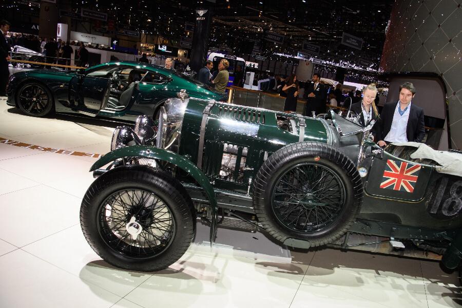 Bntley Race Car