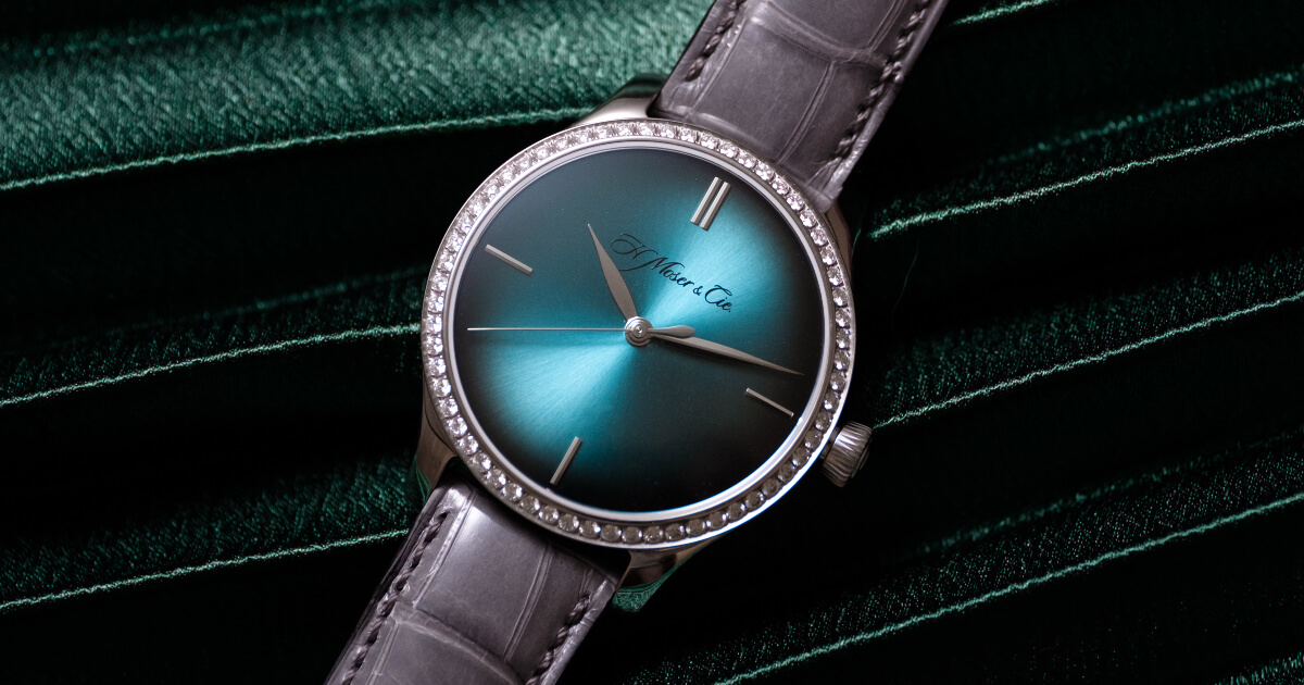 H. Moser & Cie. Endeavour Centre Seconds Diamonds Purity