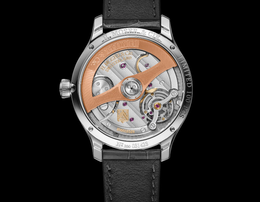 H. Moser & Cie. Endeavour Centre Seconds Diamonds Purity Movement