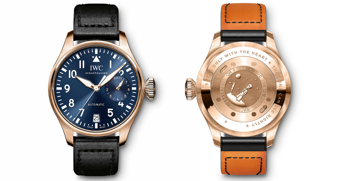 IWC Big Pilot's Watch Single Piece With A Special Engraving (Ref. IW500923) Sold For USD 60,000