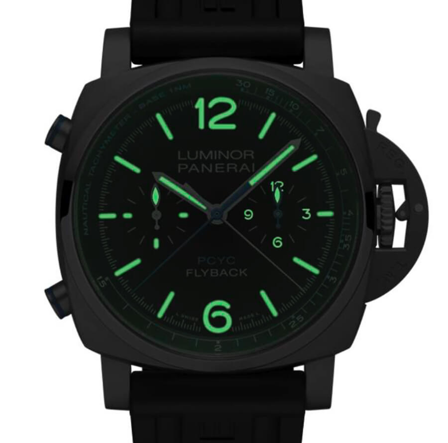 Panerai Luminor Yachts Challenge Super Luminova