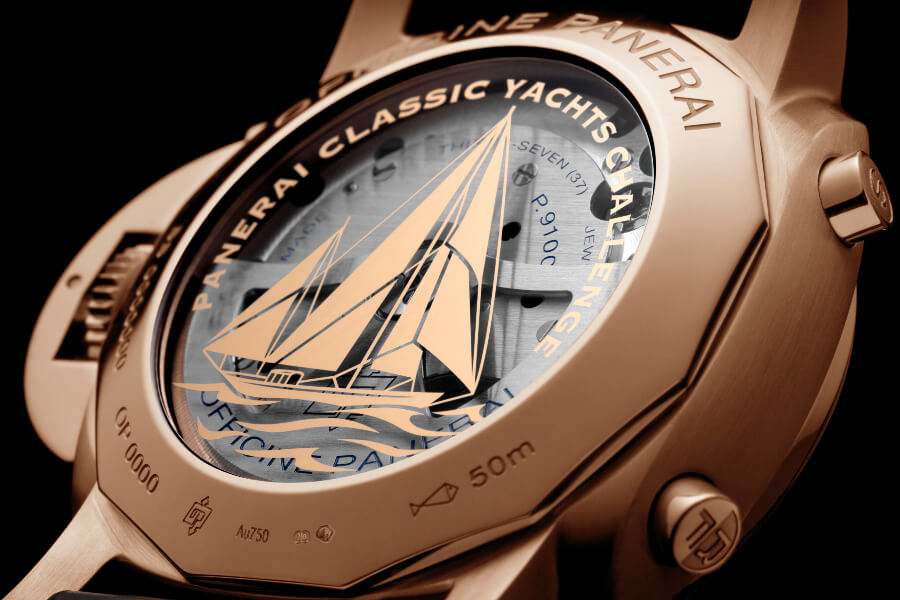 Panerai Luminor Yachts Challenge Movement