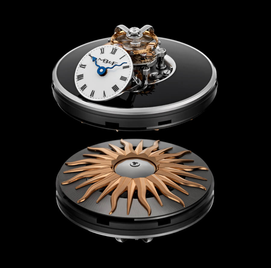 MB&F Legacy Machine Flying T Movement