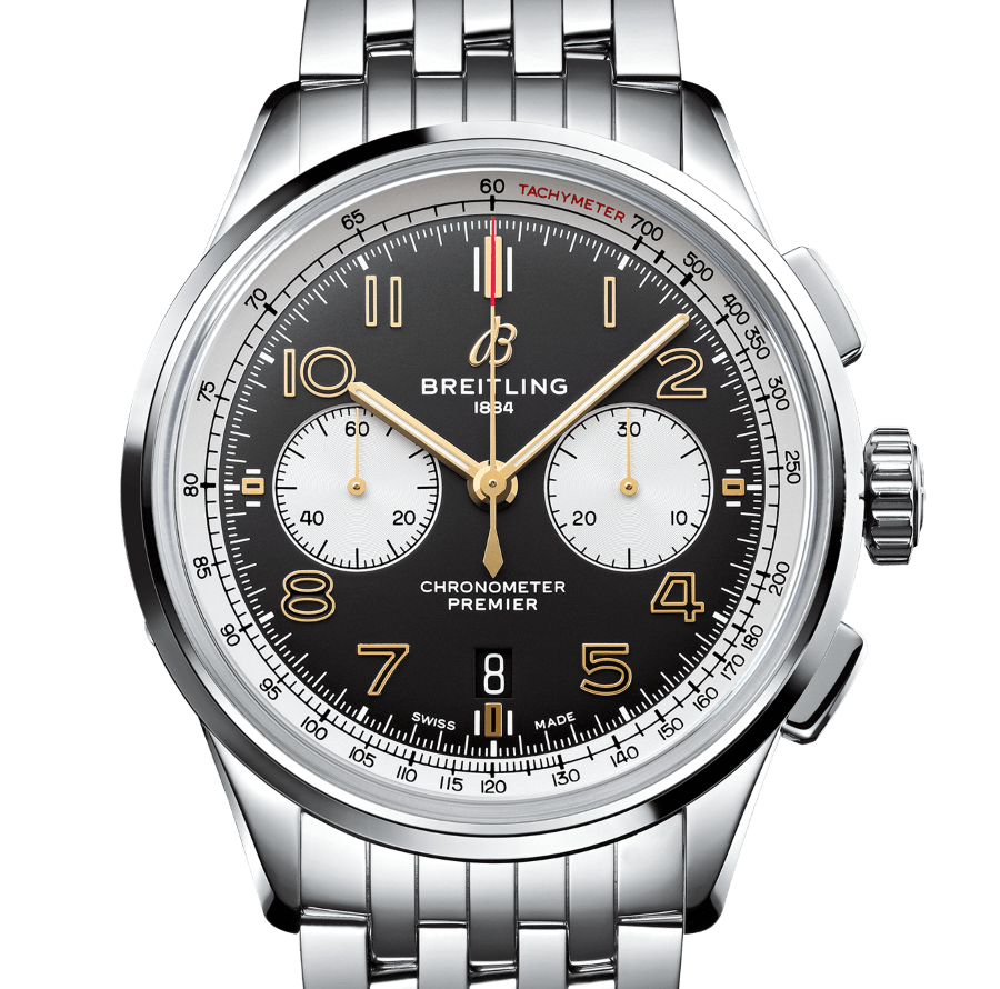 The New Breitling Premier B01 Chronograph 42 Norton Edition