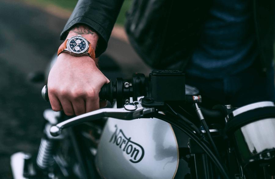 Breitling Premier B01 Chronograph 42 Norton Edition Watch Review