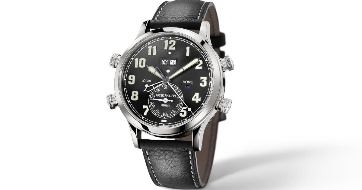 Patek Philippe Ref. 5520P-001 Alarm Travel Time (Specifications and Price)