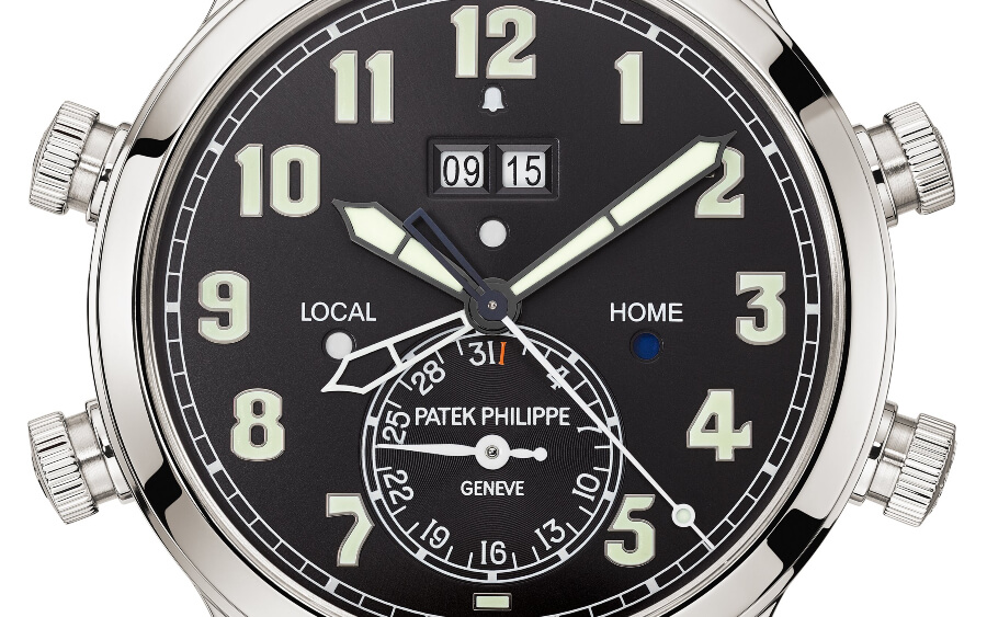 The New Patek Philippe Ref. 5520P-001 Alarm Travel Time